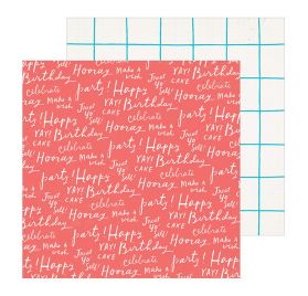 Papier double 30x30 'Crate Paper - Hooray' Cheers