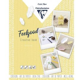 Carnet Créatif Feelgood 'Clairefontaine' Cocooning