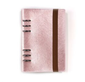 Organiseur vide A5 'Elizabeth Craft Designs - Planner Essentials' Or Rose
