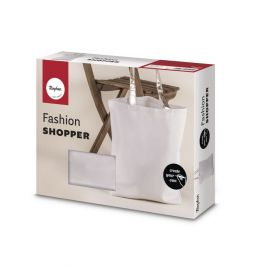Sac Fashion Shopper 'Rayher' Blanc 46x46 cm