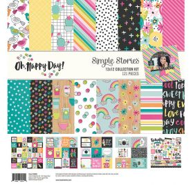 Assortiment 30x30 'Simple Stories -Oh Happy Day ' Collection Kit