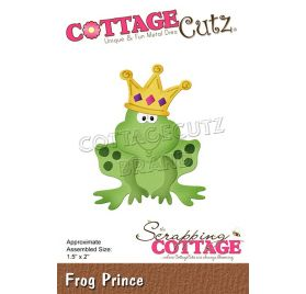 Die/Matrice de découpe 'The Scrapping Cottage - Cottage Cutz' Frog Prince