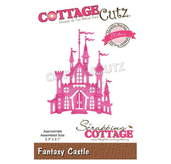 Die/Matrice de découpe 'The Scrapping Cottage - Cottage Cutz' Fantasy Castle