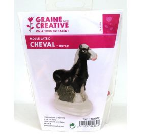 Moule latex 'Graine Créative by DTM' Cheval