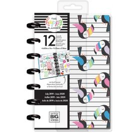 Mini Organiseur 'Me & My Big Ideas - The Happy Planner ' Pastel Tropics  (Juillet 2019  à Juin 2020)
