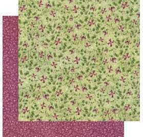 Papier double 30x30 'Graphic 45 - Bloom' Dainty Blossoms