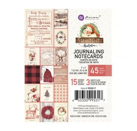 45 Cartes 7.5x10 cm 'Prima - Christmas in the Country'