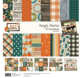 Assortiment 30x30 'Simple Stories - Fall farmhouse' Collection Kit