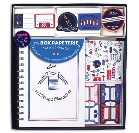 kit complet de papeterie 'Toga - Frenchy'