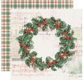 Papier double 30x30 'Simple Stories - Country Christmas' Christmas Magic