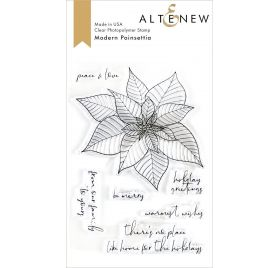 Tampons transparents 'Altenew' Modern Poinsettia