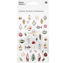 Autocollants Epoxy  'Rico Design - Paper Poetry' Nostalgic Christmas Classique