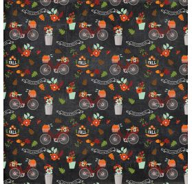 Papier double 30x30 ' Echo Park Paper - My Favorite Fall' Fall is in the air