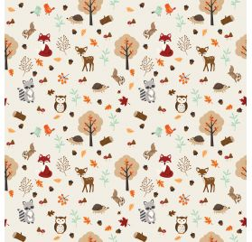 Papier double 30x30 ' Echo Park Paper - My Favorite Fall' Fall Friends