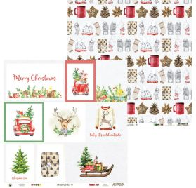 Papier double 30x30 'Piatek - Christmas Treats' 05