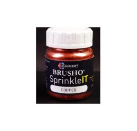 Pigment en poudre 'Colourcraft - Brusho' Sprinkle IT Cuivre