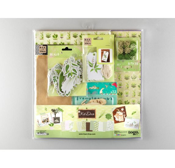 Kit Déco 'Toga' Oh My Green