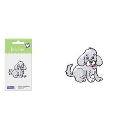 Motif thermocollant  'BeaLena' chien assis