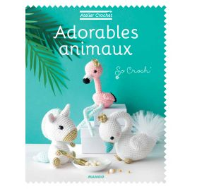 Livre 'Graine Créative ' Adorables animaix  par So Croch'