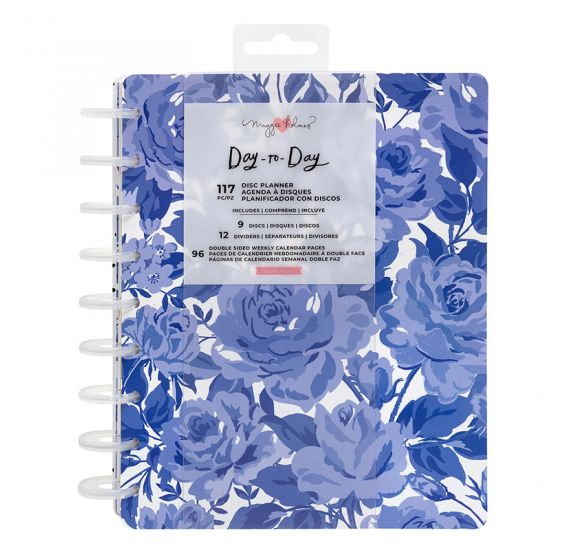 Organiseur moyen 'Crate Paper - Day-to-Day' Sweet Rose (non daté)