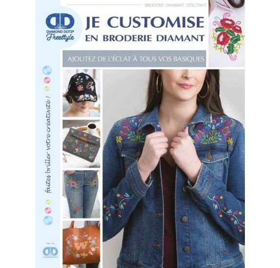 Livre 'Diamond Dotz ' Je customise en broderie diamant