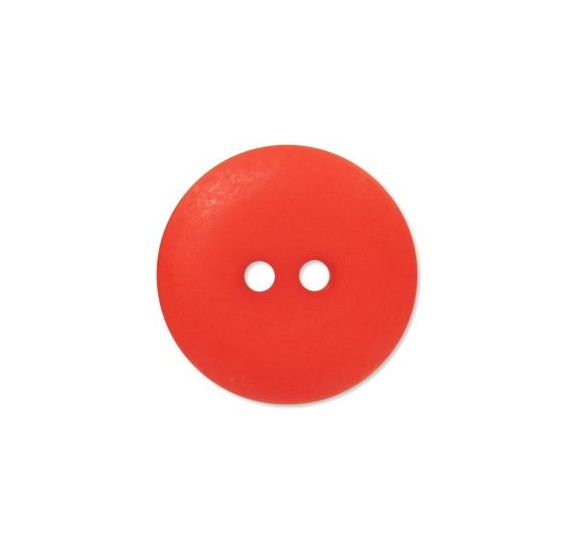 Bouton couture en Polyester '3B com' Rouge mat 14mm
