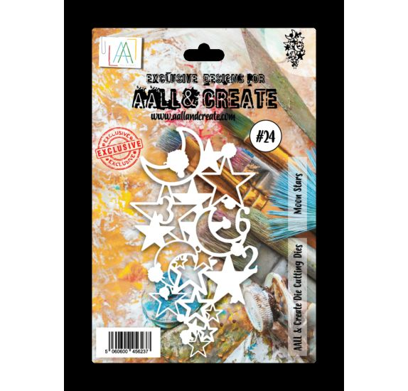 Die / Matrice de découpe 'AALL and Create' Moon Stars 024