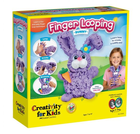 Finger Looping 'Creativity For Kids' Lapin