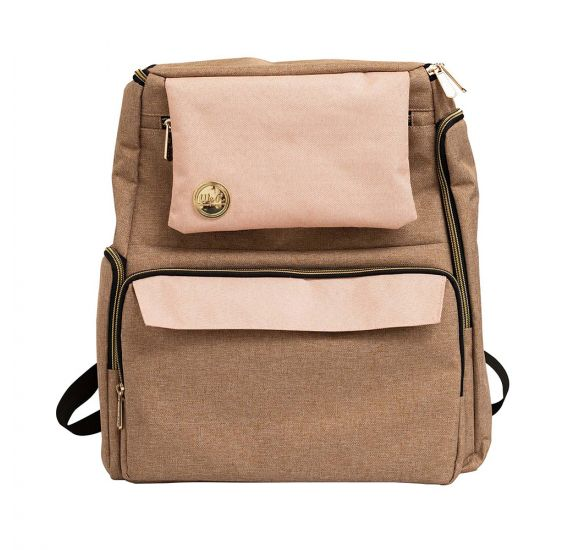 Sac à dos 'We R Memory Keepers' Taupe