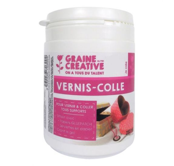 Vernis-Colle 'PW International' Brillant 250 ml