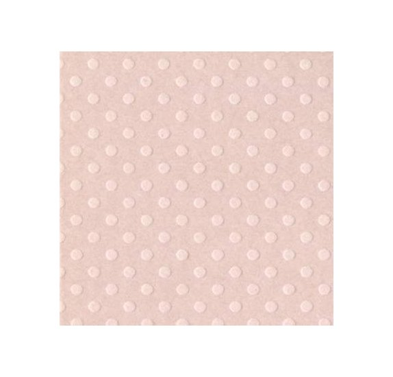 Papier uni 30x30 - Bazzill - Sunset Rose