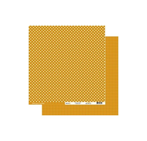 Papier double 30x30 - Kesi'Art - Orange