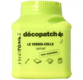 Vernis colle décopatch - 70gr