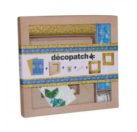 Kit d'initiation - Decopatch - Cadre carré plat