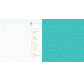 Papier double 30x30 - Webster's Pages - Checklist